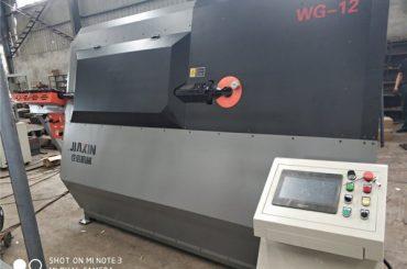 Macchina piegatrice idraulica automatica idraulica del cavo di CNC di 4-12mm 2D