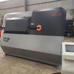 Piegatrice idraulica della barra di acciaio di CNC di 4mm-12mm, macchina piegatubi del tondo per cemento armato, piegatrice automatica della staffa d'acciaio