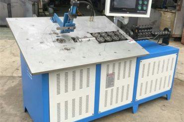 cnc d'acciaio automatico di vendita calda 3d che forma il cnc a macchina, prezzo della macchina piegatubi del cavo 2d