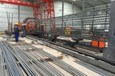 Il miglior prezzo ha saldato la macchina del rotolo della rete metallica, rinforzando il diametro 500-2000mm del saldatore della cucitura della gabbia