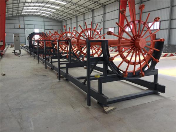 Saldatura della gabbia del tondo per cemento armato d'acciaio del mucchio di rinforzo di CNC che fa macchina