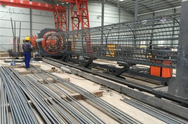 Made in China Funzionamento semplice Resistente e robusta Macchina per la saldatura di gabbie in ferro di garanzia della qualità e costruzione di gabbie di rinforzo